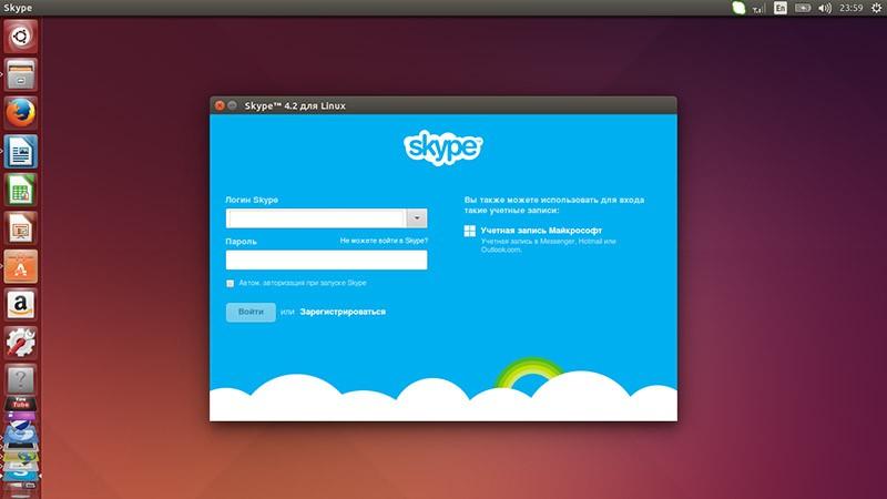 скачать скайп для линукс