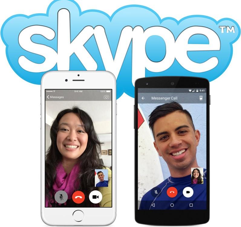 скачать бесплатно скайп на телефон