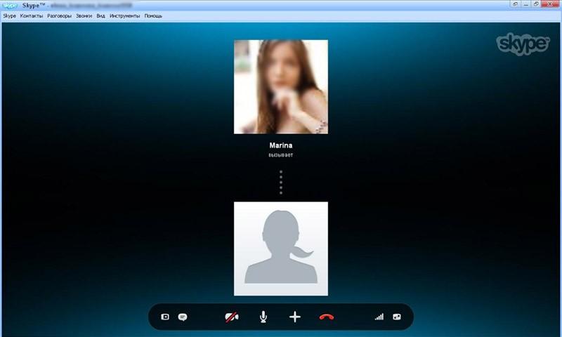 скайп для windows 8 аудиозвонок