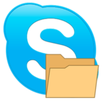 Папка appdata skype